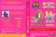 Bear in the Big Blue House and Bananas in Pyjamas - Music to My Ears and Beat Box DVD Cover - Copy