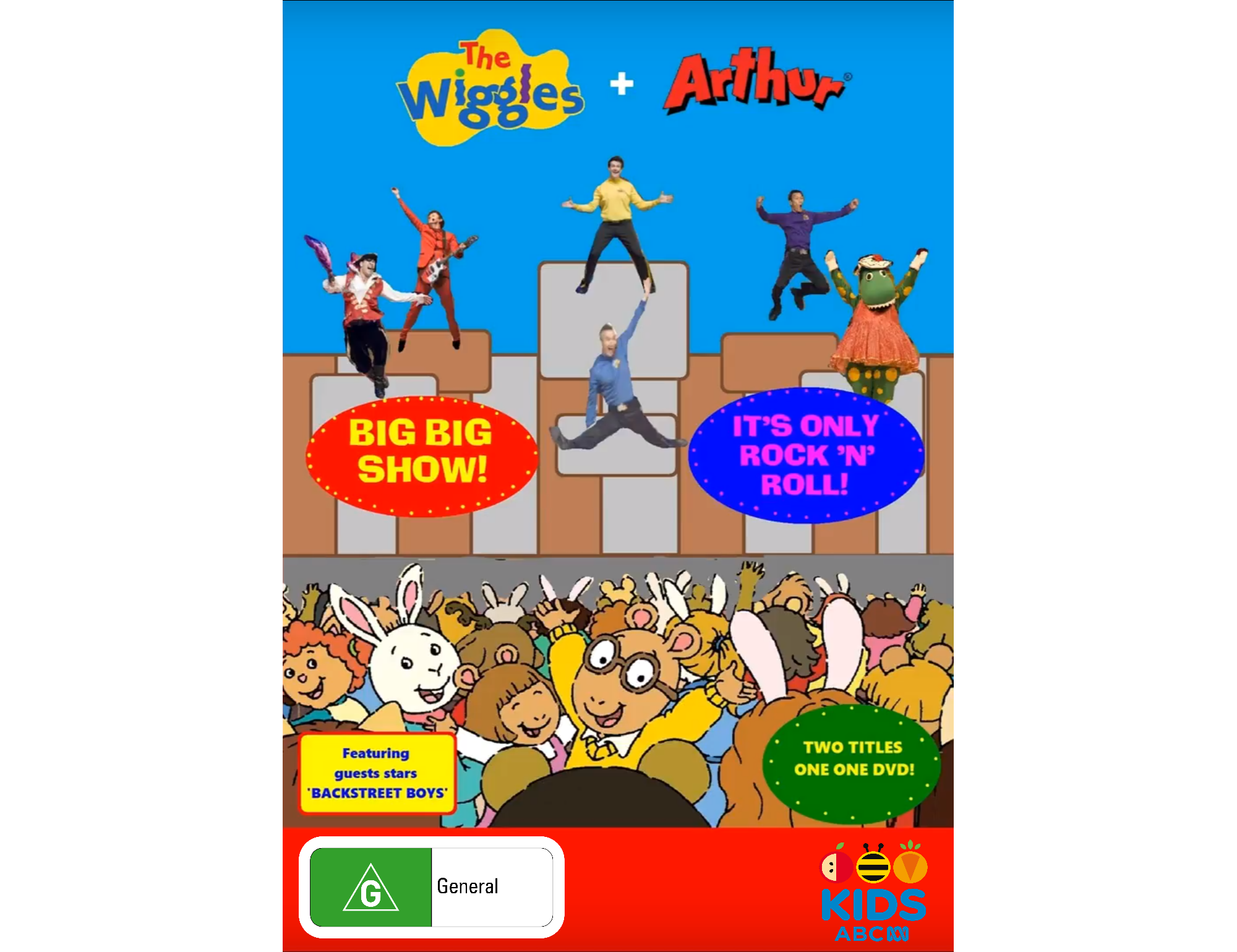 The Wiggles + Arthur - Big, Big, Show! + It's Only Rock N Roll (Re-release)