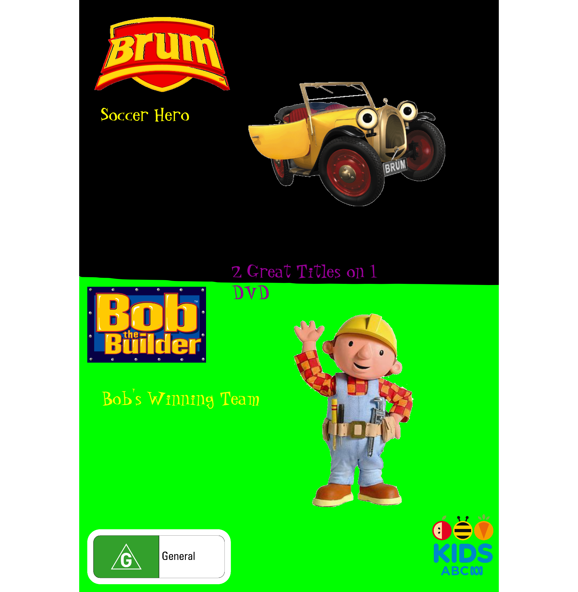 Brum and Bob the Builder: Soccer Hero and Bob's Winning Team (video)