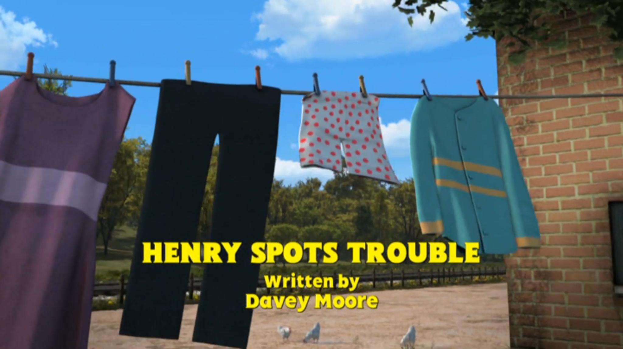 Henry Spots Trouble/Gallery