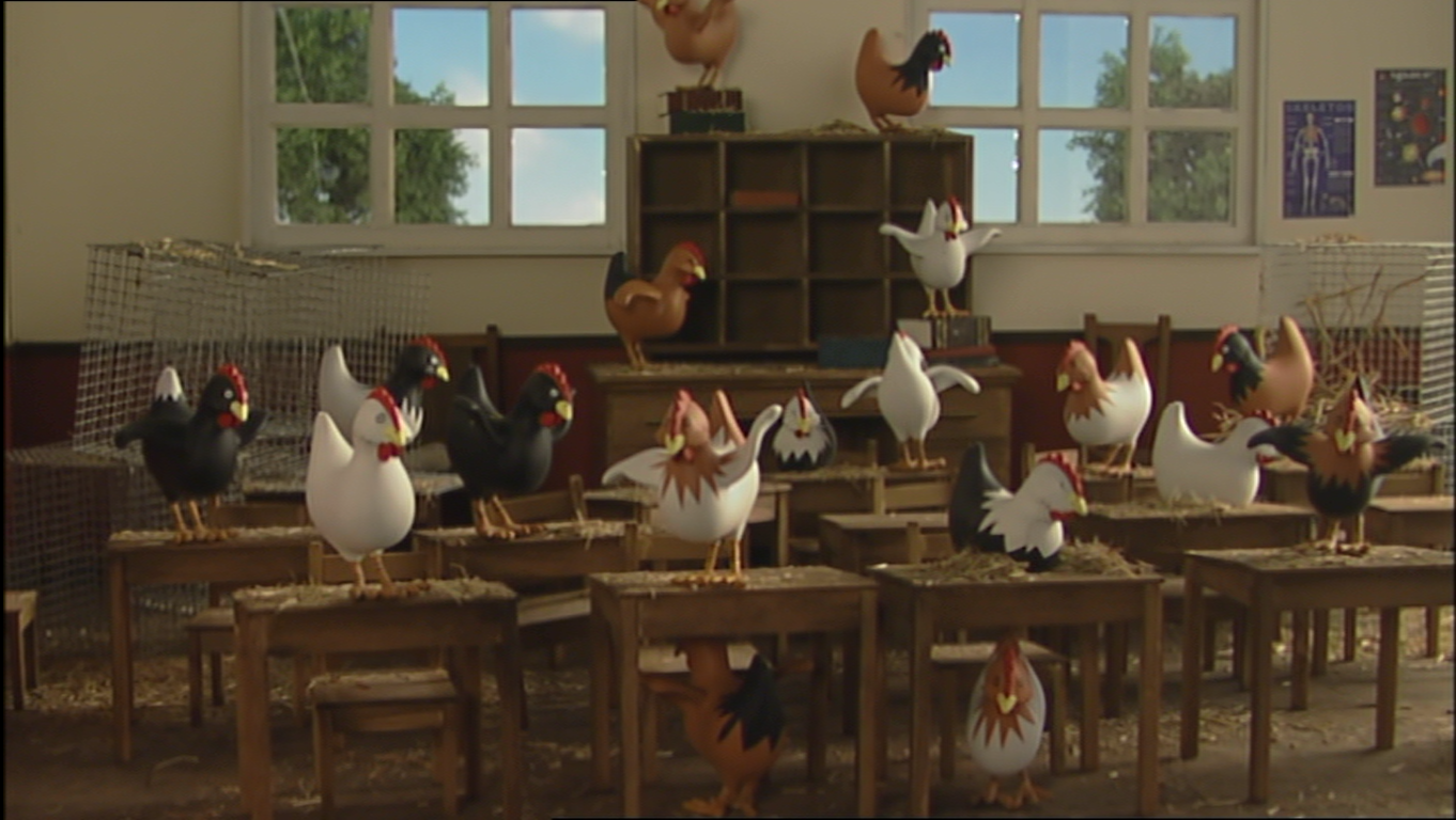 Chickens to School