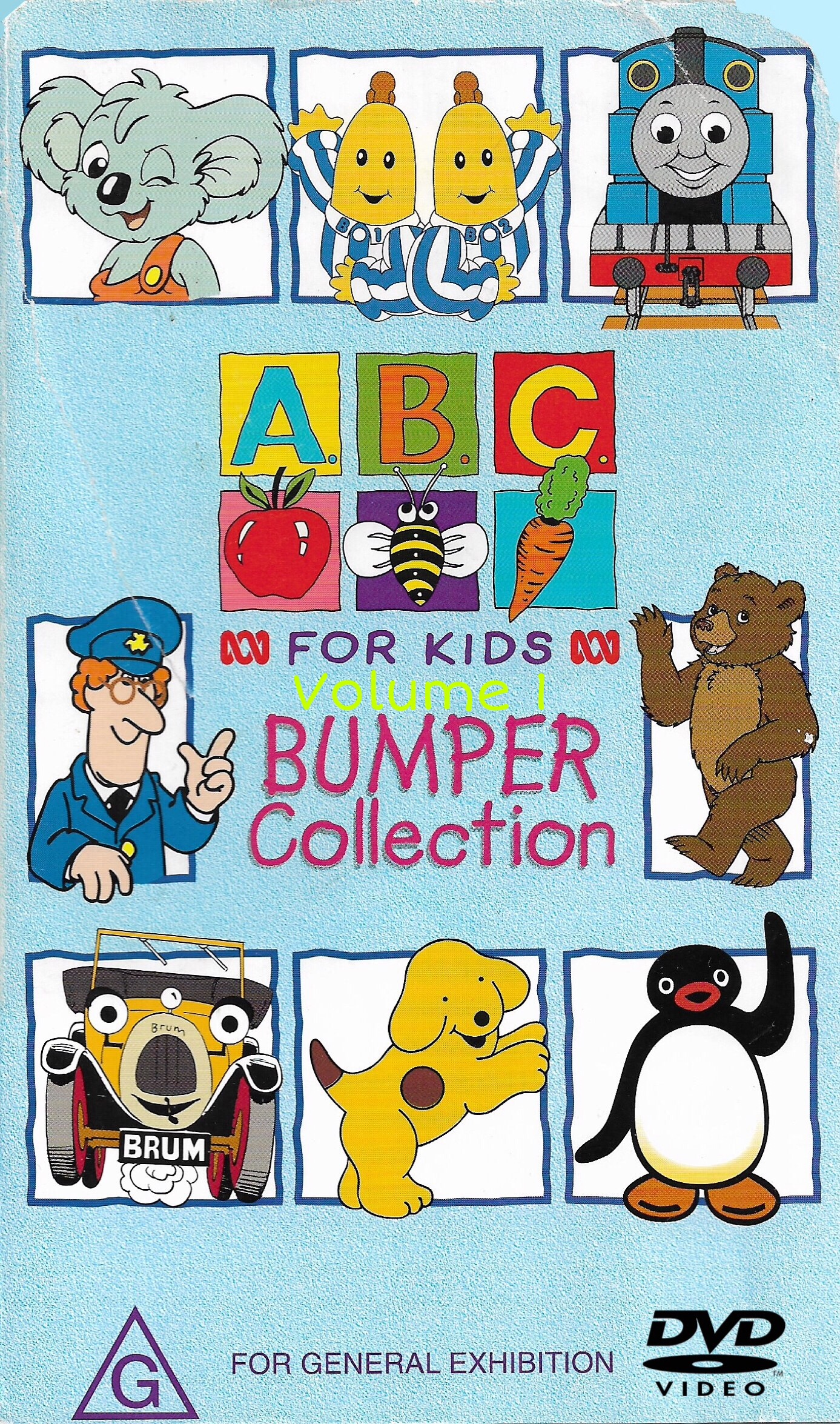 ABC For Kids Volume 1 Bumper Collection (1999) 2020 DVD.jpeg