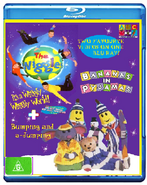 The Wiggles and Bananas in Pyjamas - IAWWW and BAAJ BluRay Cover.