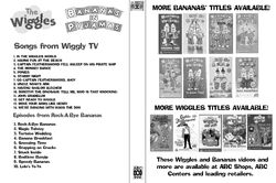 The Wiggles and Bananas in Pyjamas - Wiggly TV and Rock-A-Bye Bananas DVD Cover - Inside.jpg