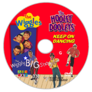 The Wiggles and The Hooley Dooleys - The Wiggly Big Show and Keep on Dancing re-release DVD - Disc