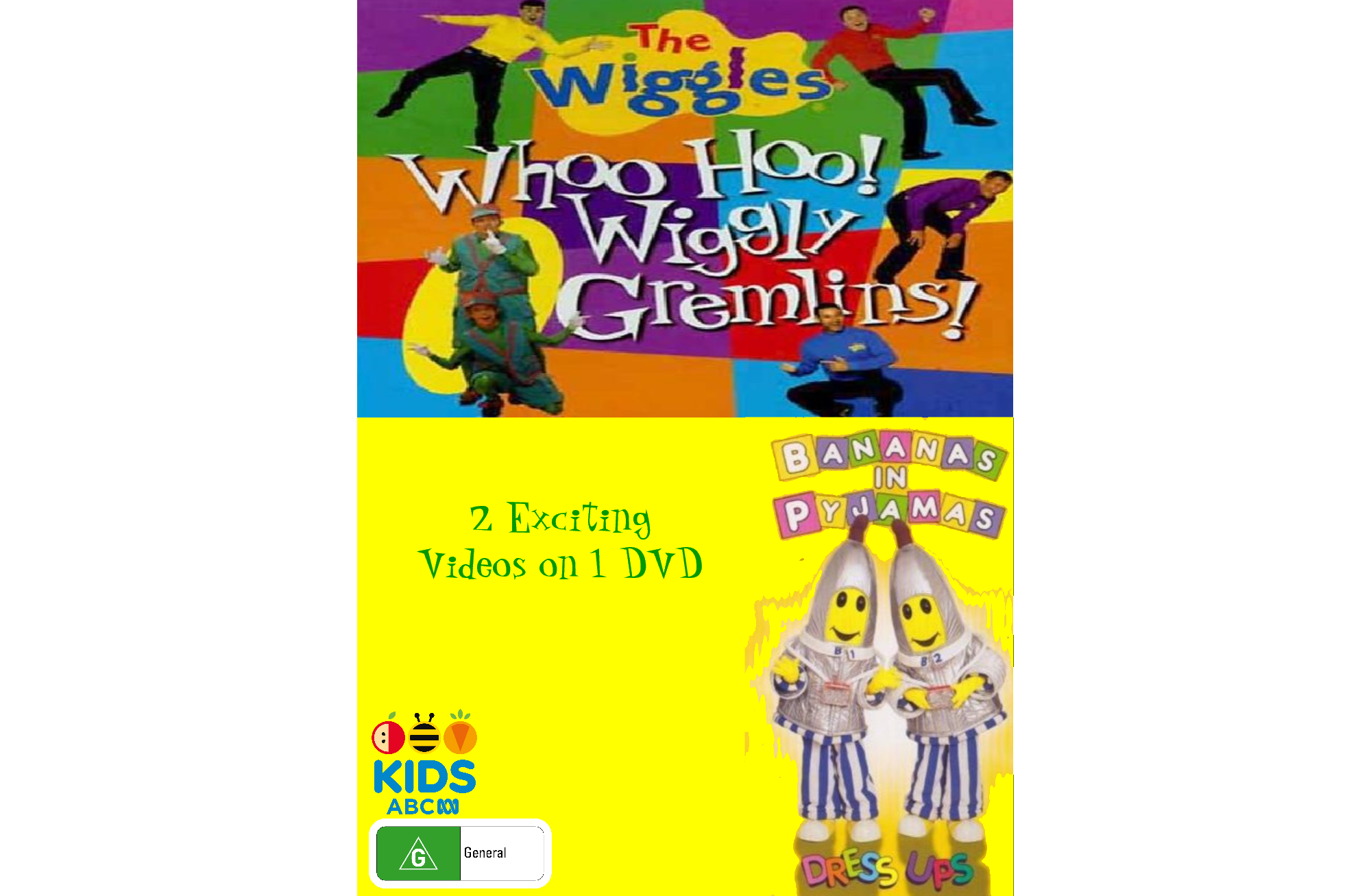 The Wiggles and Bananas in Pyjamas: Whoo Hoo Wiggly Gremlins and Dress Ups