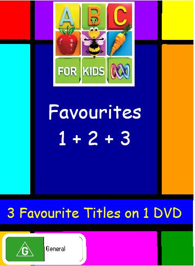 ABC for Kids Favourites Vol 1 + 2 + 3