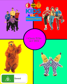 ABC For Kids Dance Party DVD Cover (Front).png