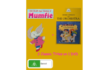 Magical Adventures of Mumfie and Peter Ustinov Reads the Orchestra DVD Cover.png
