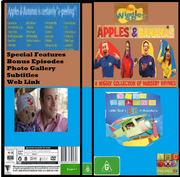 The Wiggles & Play School Apples & Bananas & Little Ted's Big Adventure 2019 DVD Cover.png