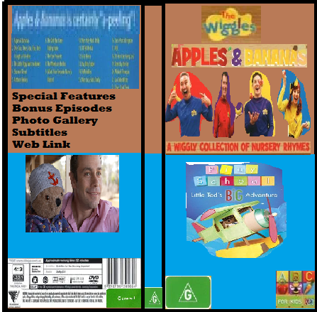 ABC For Kids Fanon:The Wiggles & Play School Apples & Bananas & Little Ted's Big Adventure
