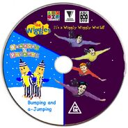 The Wiggles and Bananas in Pyjamas - IAWWW BAAJ DVD Disc