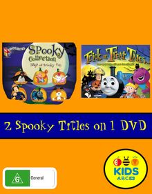 HiT Favourites Spooky Collection and Trick or Treat Tales DVD Cover.png