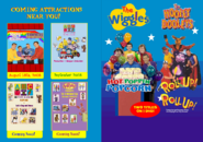 The Wiggles and The Hooley Dooleys - Hot Poppin' Popcorn and Roll Up Roll Up 2018 re-release DVD Booklet