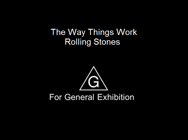 The Way Things Work - Rolling Stones