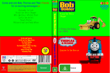 Bob the Builder and Thomas and Friends Scoop the Disco Digger and Engines to the Rescue DVD Cover.png