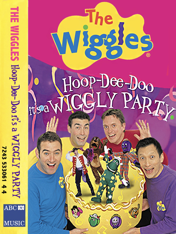 Hoop Dee Doo it's a Wiggly Party (Cassette)