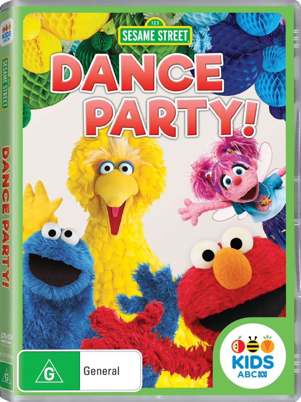 Dance Party! (Sesame Street DVD)