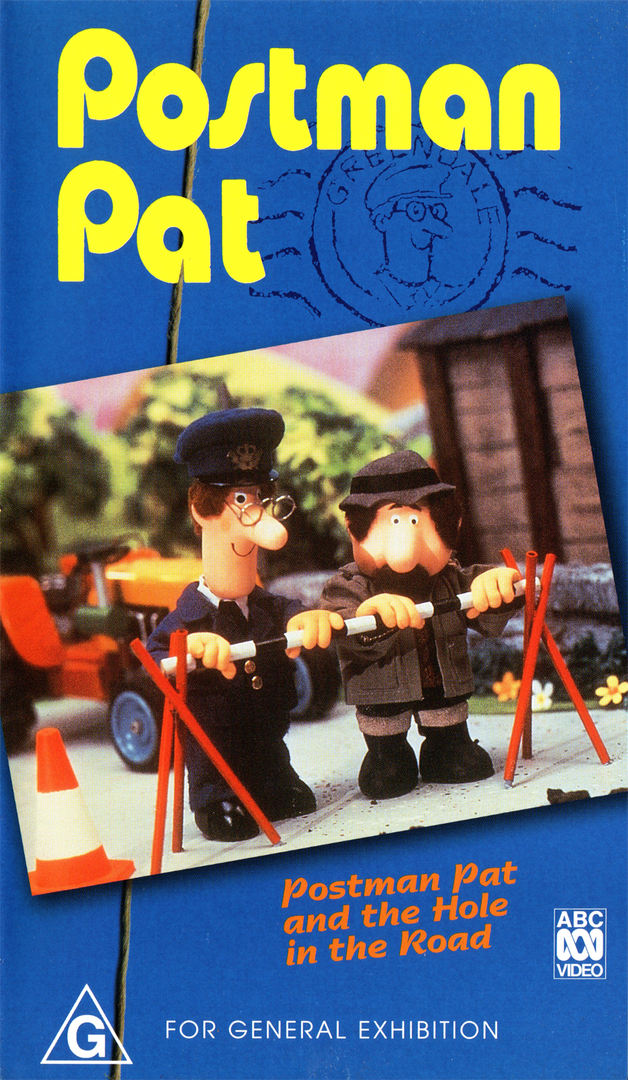 Postman Pat and the Hole in the Road (video)