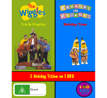 Yule Be Wiggling and Holiday Time DVD Cover.png