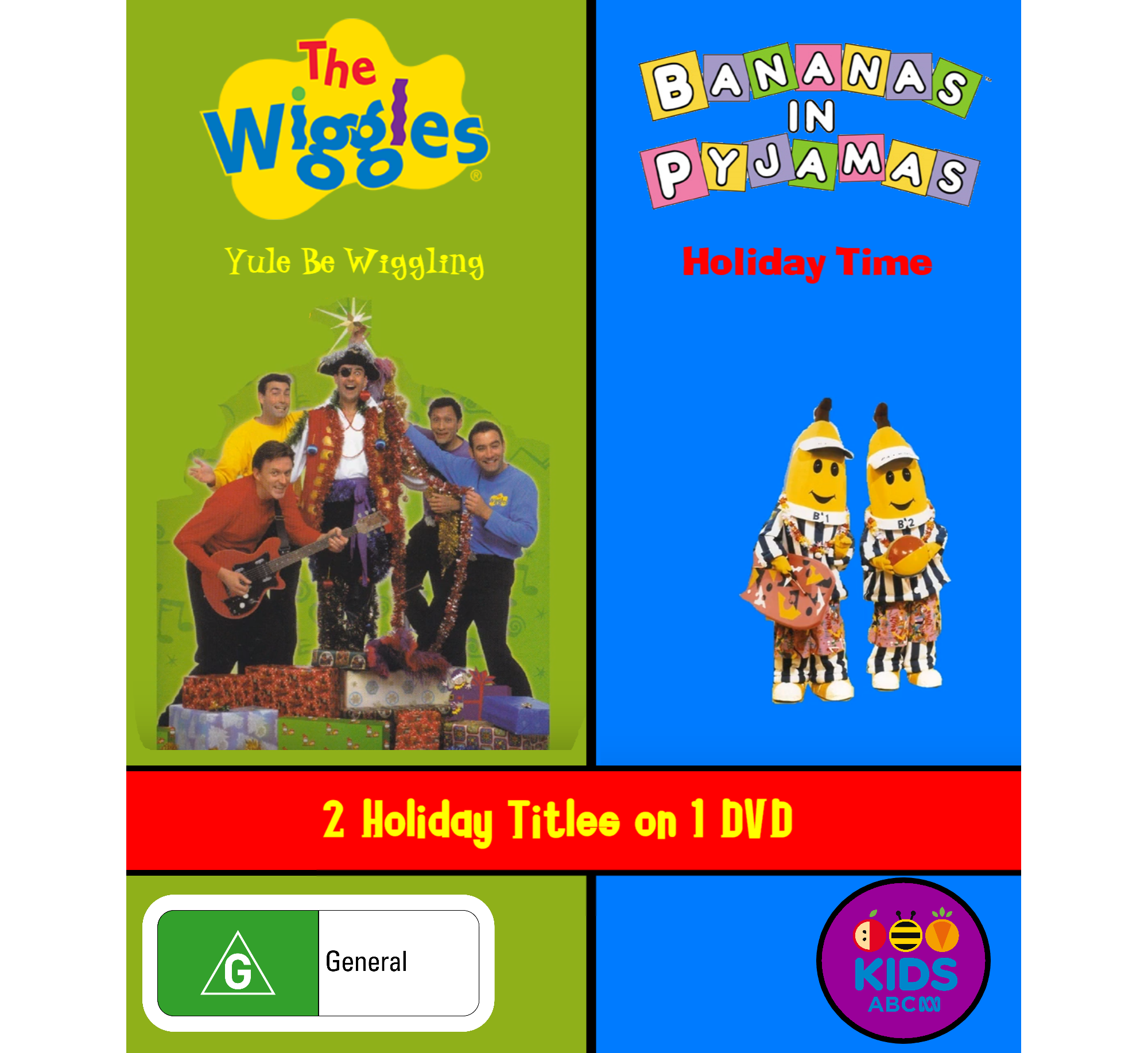 The Wiggles and Bananas in Pyjamas - Yule Be Wiggling and Holiday Time