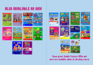 ABC for Kids - Favourites + Bumper Collection DVD Booklet - Inside