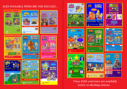 The Wiggles and The Hooley Dooleys - The Wiggly Big Show and Keep on Dancing re-release DVD Booklet - Inside