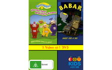 Teletubbies and Babar Hands Feet and Dirty Knees and Ghost for a Day.png