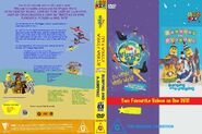 The Wiggles and Bananas in Pyjamas - IAWWW and BAAJ DVD Cover
