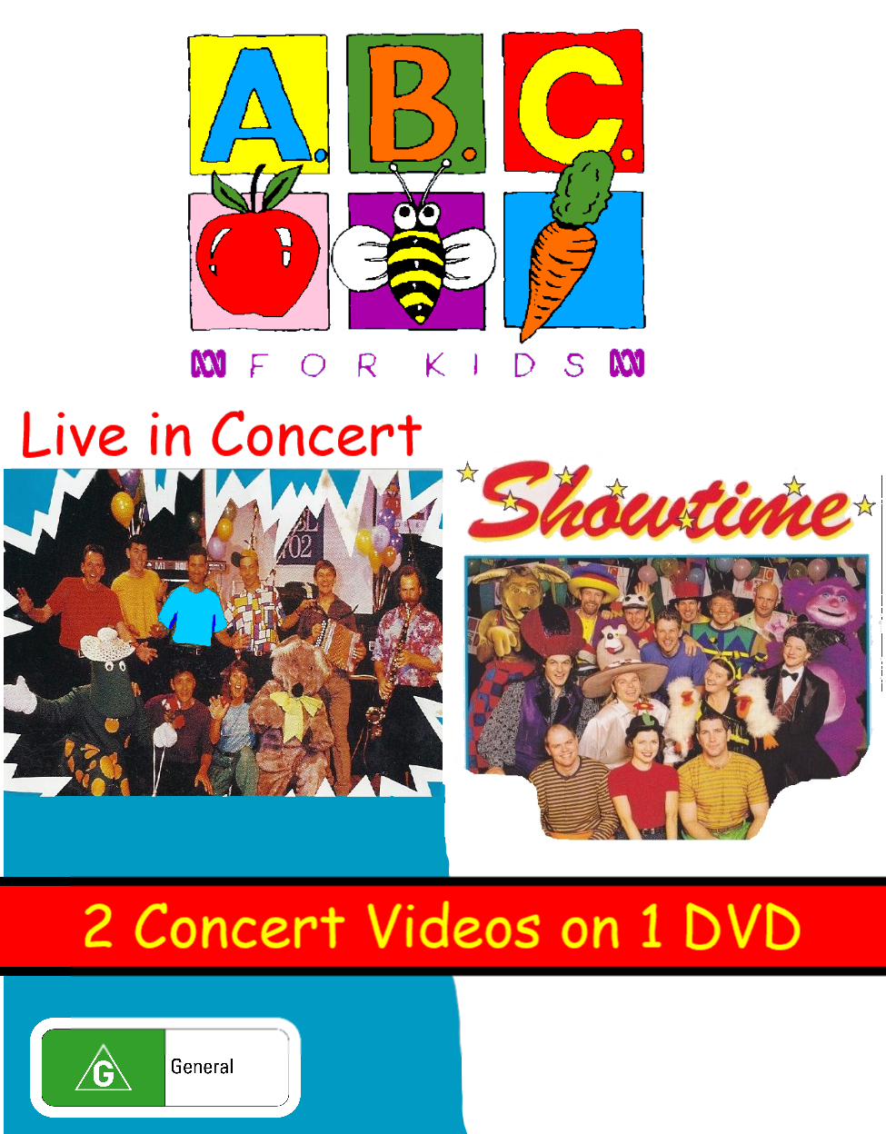 ABC for Kids Live in Concert + Showtime (video)