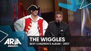 The Wiggles win Best Children's Album 2007 ARIA Awards
