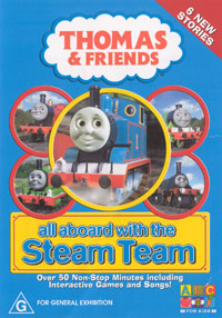 All Aboard with the Steam Team (DVD)