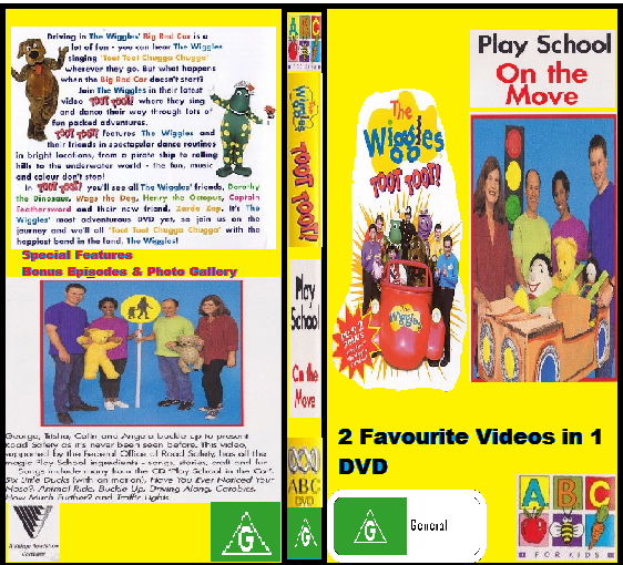 ABC For Kids Fanon:The Wiggles & Play School Toot Toot (re-release) & On The Move