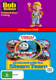 Bob the Builder and Thomas and Friends Pilchard Goes Fishing and All Aboard with the Steam Team.png