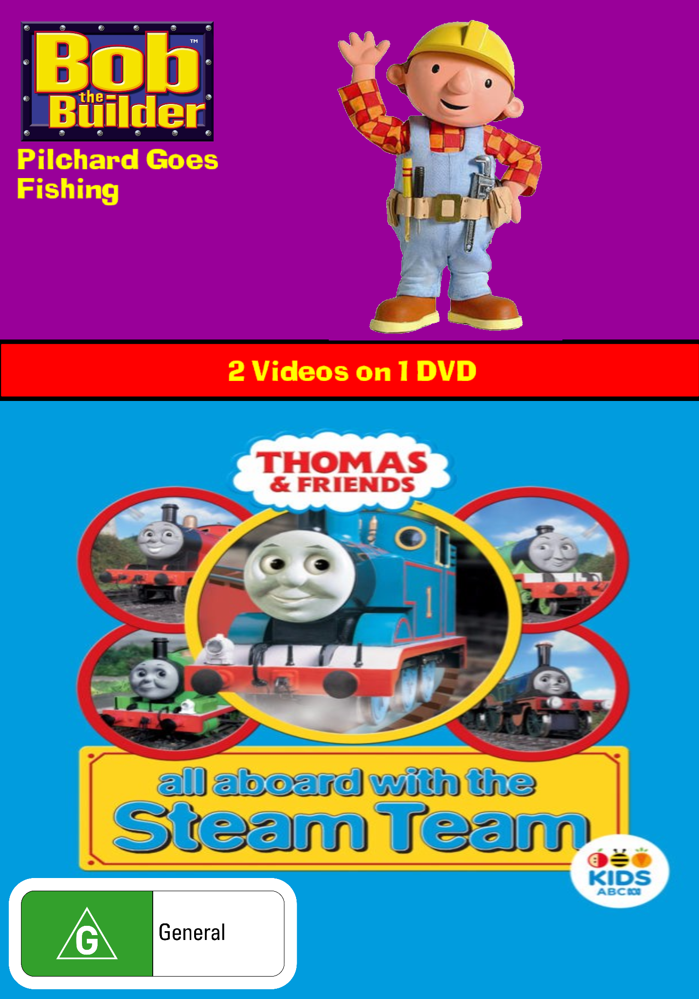 BTB/TAF - Pilchard Goes Fishing/All Aboard with the Steam Team (video)