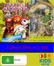 Dragon's Treasure and Oakie Doke and the Lonely Mouse DVD Cover