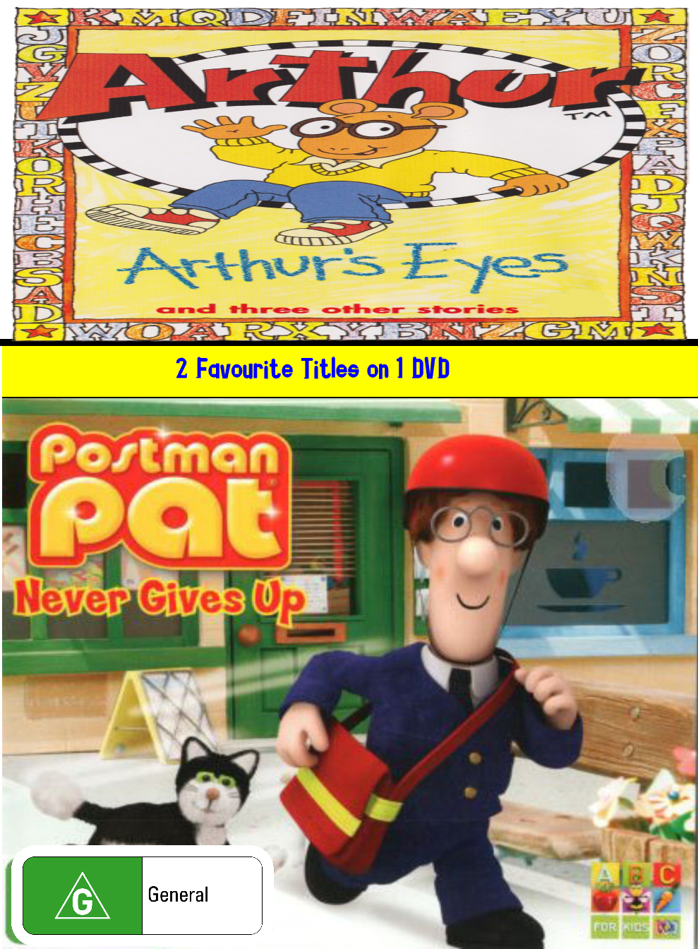 Arthur and Postman Pat: Arthur's Eyes and Never Gives Up