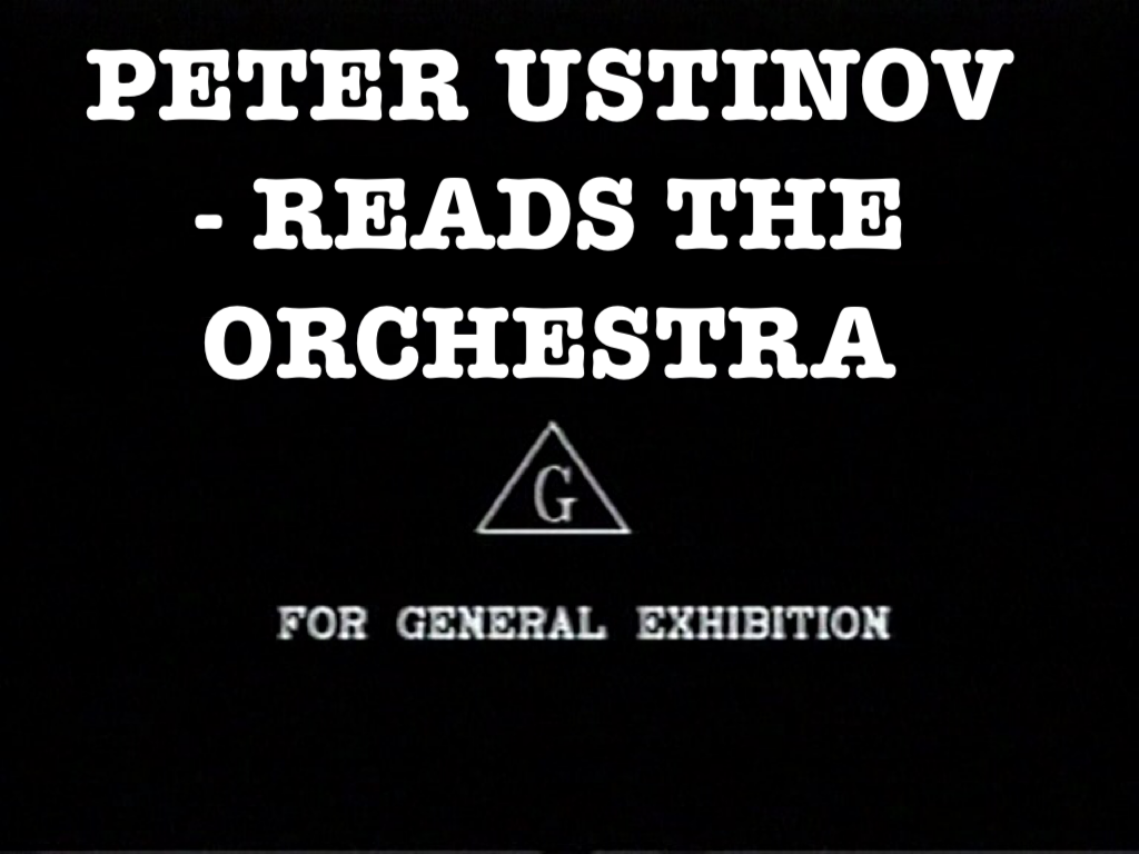 Peter Ustinov Reads the Orchestra (video)/Gallery
