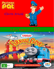 Postman Pat and Thomas and Friends Postman Pat Clowns Around and Carnival Capers DVD Cover Updated