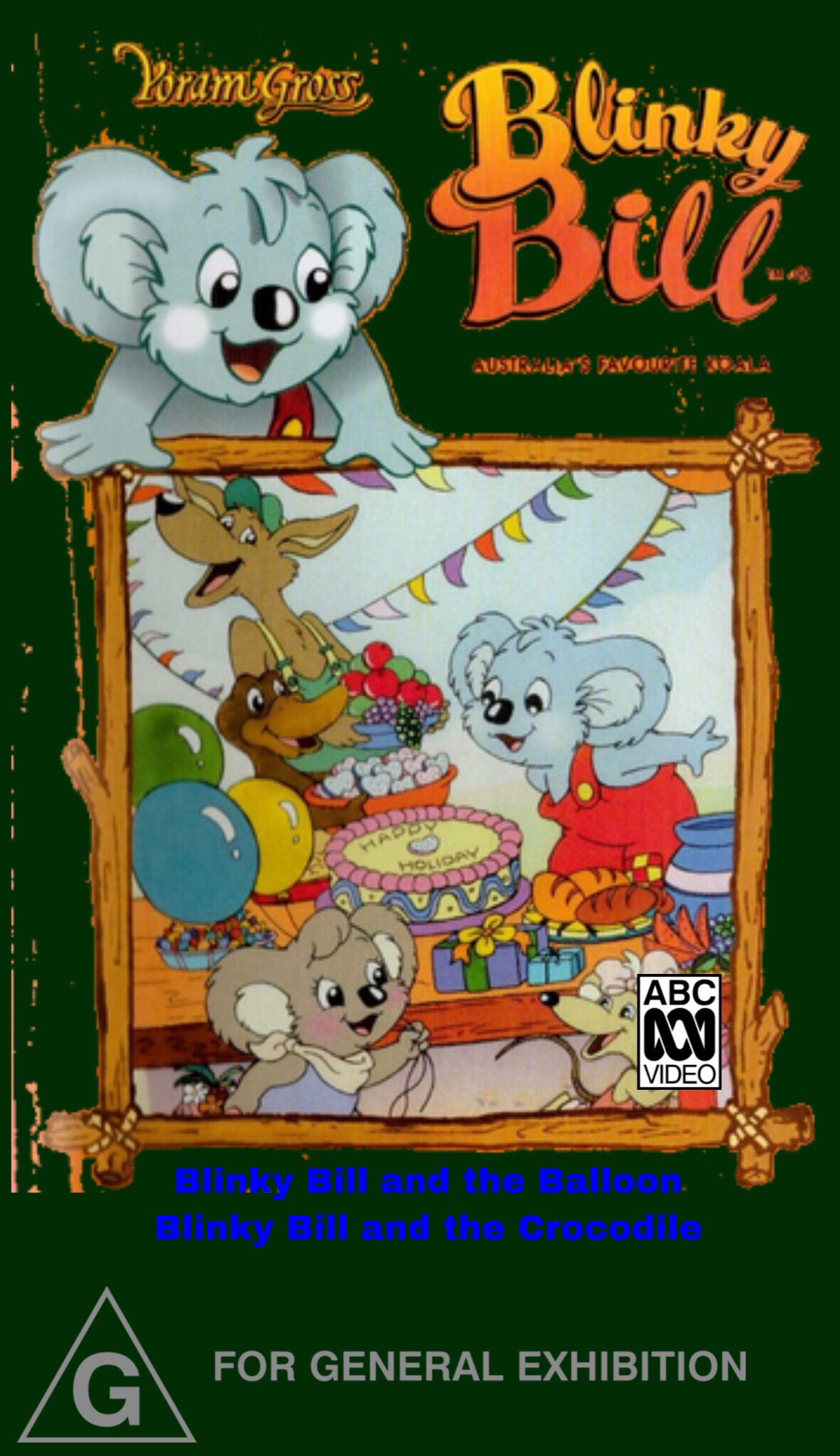 Blinky Bill and the Balloon (VHS)