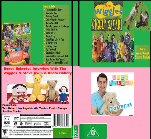ABC For Kids Fanon:The Wiggles & Play School Wiggly Safari & Patterns