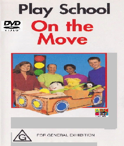 ABC For Kids Fanon:On The Move (2002 DVD)