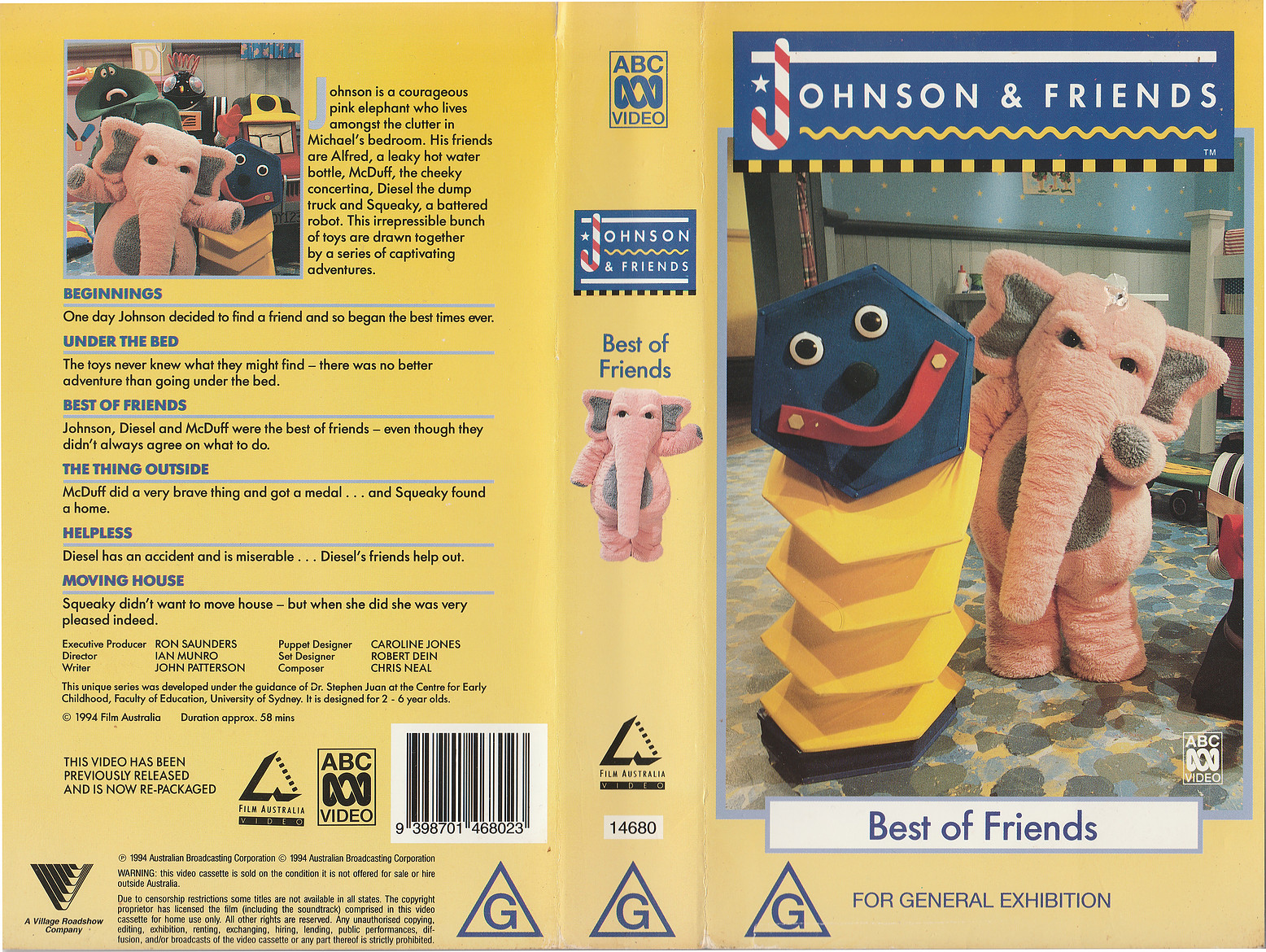 Johnson and Friends Videography