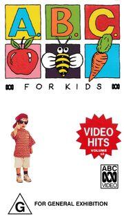 ABC For Kids Video Hits Volume 1994 VHS.jpeg