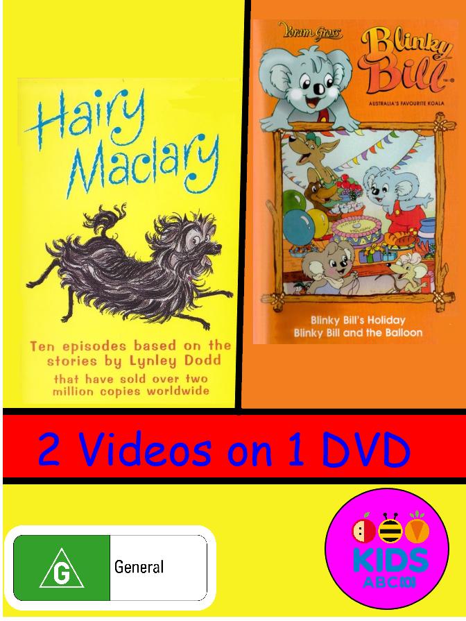 Blinky Bill - Blinky Bill's Holiday/Hairy Maclary (video)
