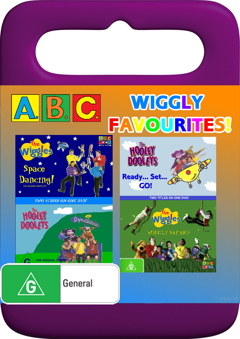 ABC for Kids - Wiggly Favourites - Space Dancing! + Oopsadazee + Wiggly Safari + Ready, Set, GO!