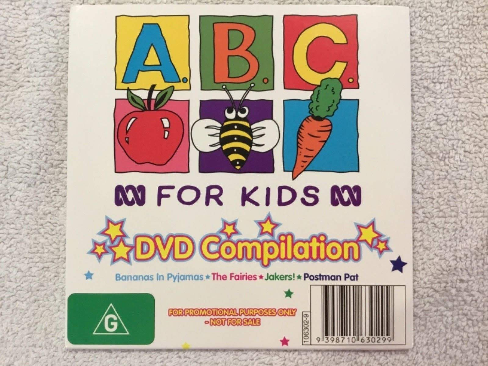 ABC For Kids DVD Compilation
