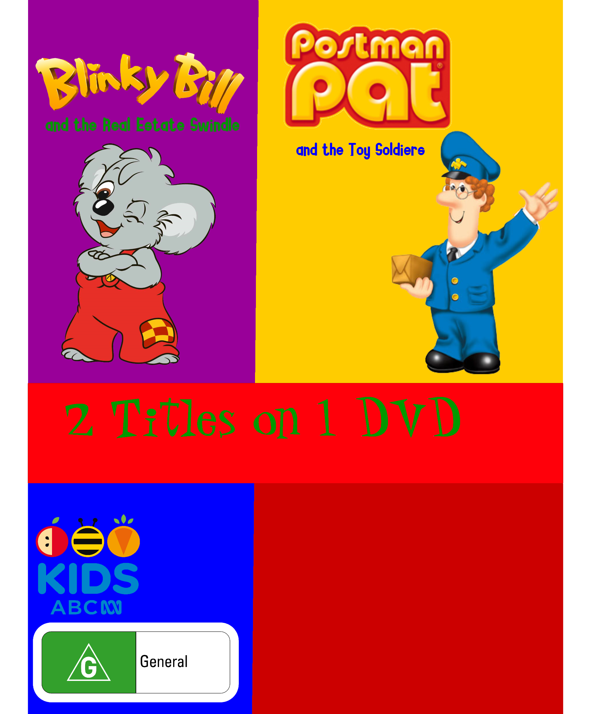 Blinky Bill and the Blue Mystery/Postman Pat and The Toy Soldiers