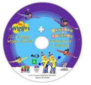 The Wiggles and Bananas in Pyjamas - IAWWW and BAAJ BluRay Disc