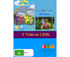Happy Weather Stories and Who's Here DVD Cover
